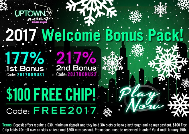 Uptown Aces Free Chip
