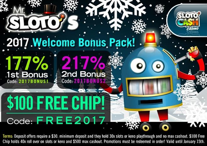 Sloto'Cash Free Chip