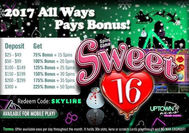 Uptown Aces Free Spins